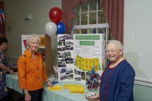 Two Presbyterian senior women